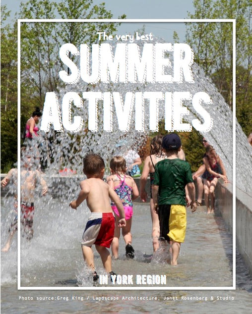 Outdoor Summer Activities in York Region