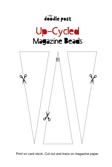 Magazine Bead Template