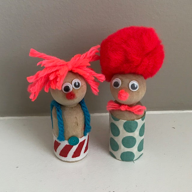 Clowns (Set of 2)