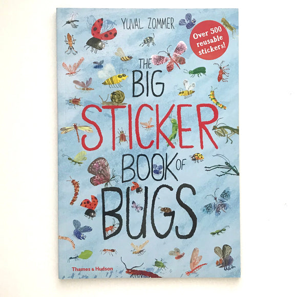 The Big Sticker Book of BUGS  (Sticker Book)