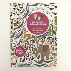 Animals of the Savanna (Sticker Book)