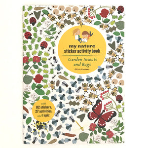 Garden Insects & Bugs (Sticker Book)