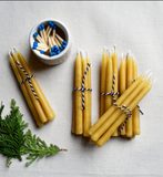Handmade Beeswax Birthday Candles
