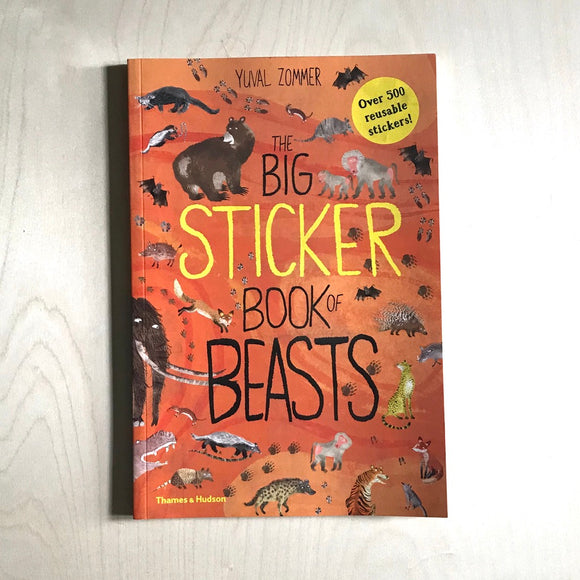 The Big Sticker Book of BEASTS  (Sticker Book)