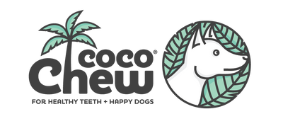 cocochew logo happy dogs healthy teeth