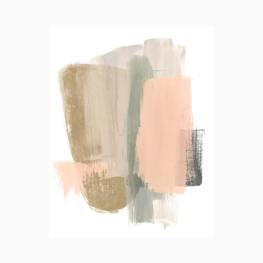 Blush Abstract VII
