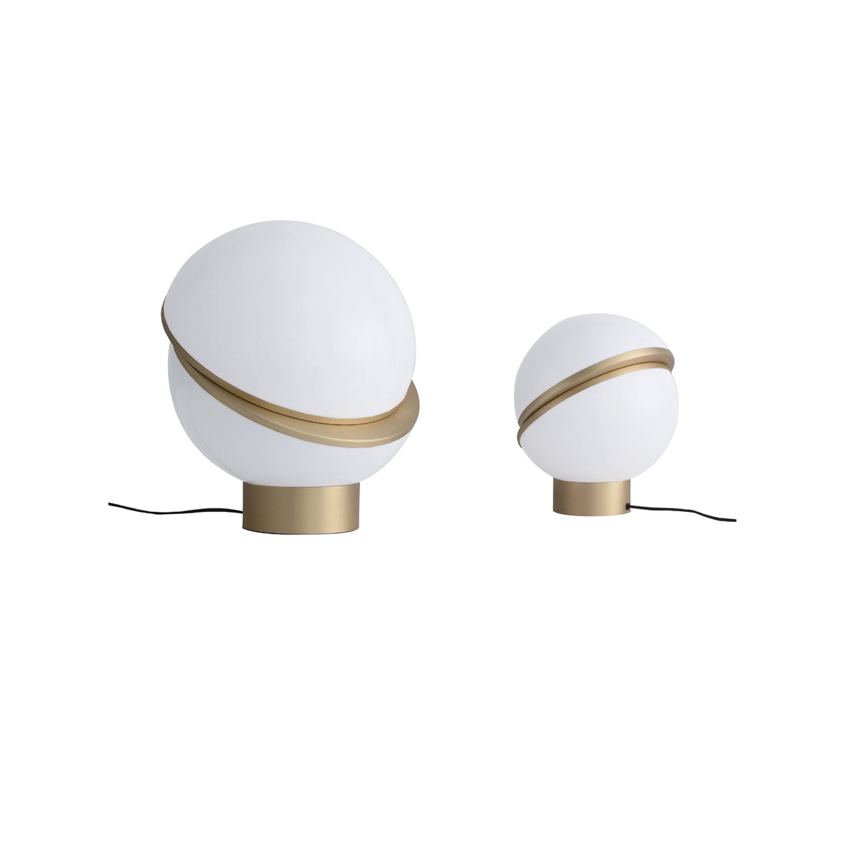 Halve Globe Table Lamp - objects of interest