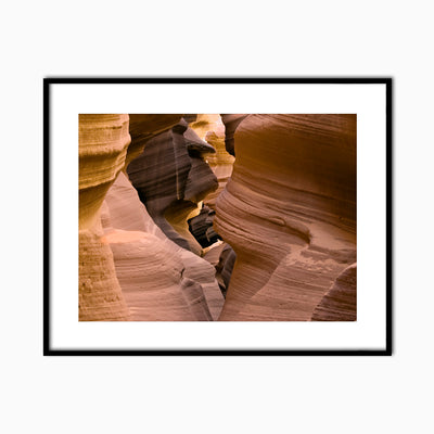 Antelope Canyon I - Objects of Interest