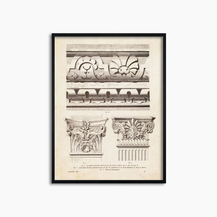 Architectural Ornament - II - Objects of Interest