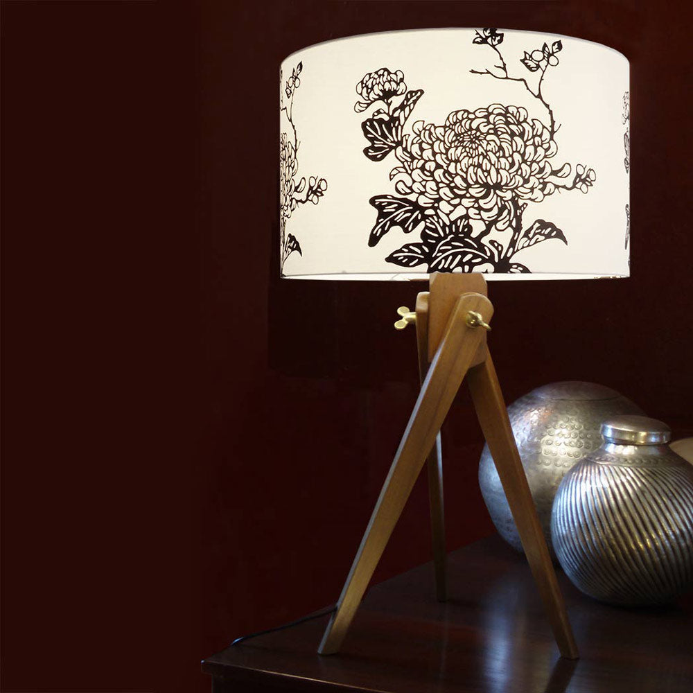 Cherry Tripod Lamp