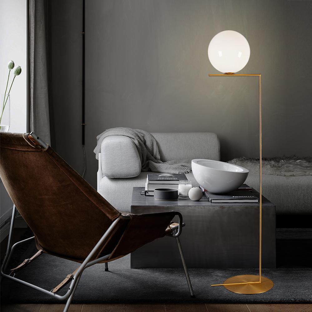 Globe Floor Lamp - objects of interest