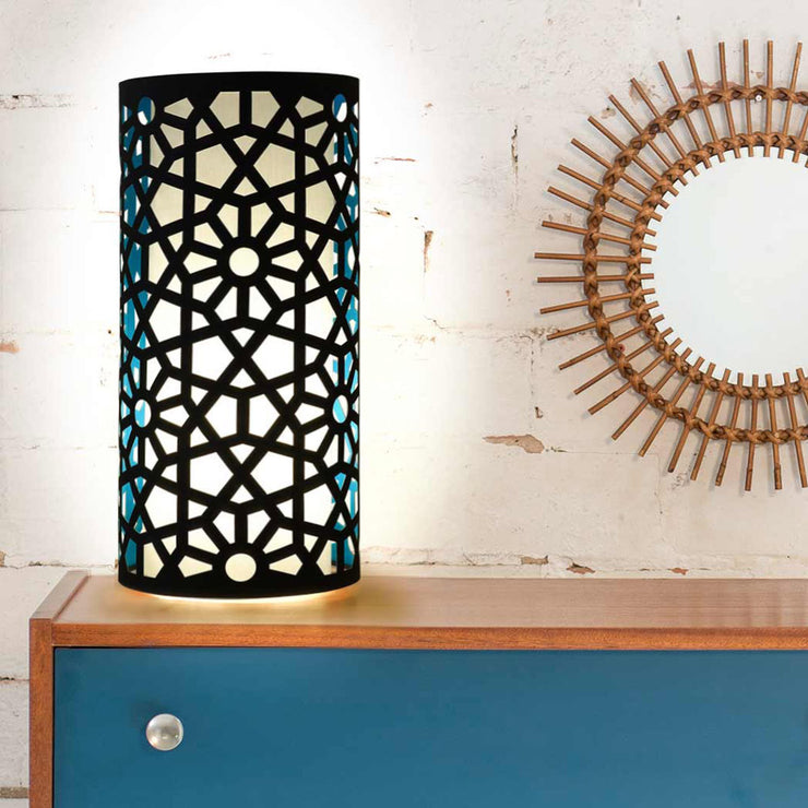 Open Cut Jali Lamp - Objects of Interest