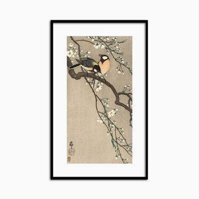 Songbirds on Cherry Branch, 1900-1910 - Objects of Interest