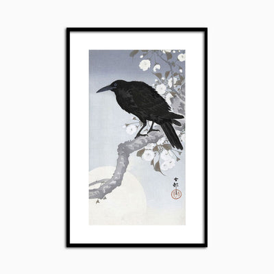 Crow at Full Moon, 1900-1930 - Objects of Interest
