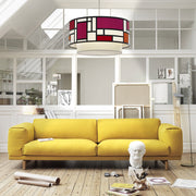 Mondrian Doublette Pendant - Objects of Interest