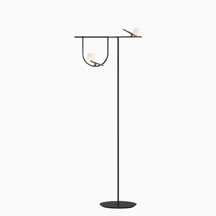 Bird Perched Floor Lamp - Objects of Interest