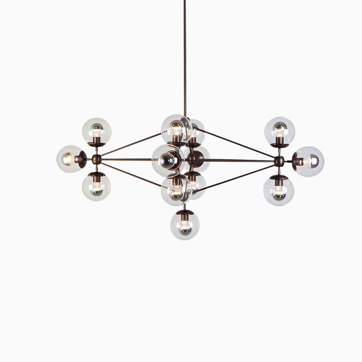 14 Blob Chandeliers - objects of interest
