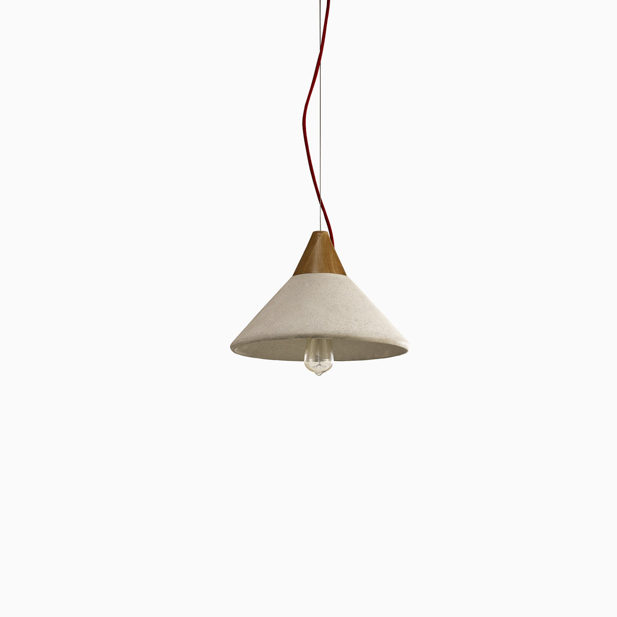 Concrete Cone Pendant - objects of interest