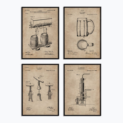 Bar Series - Bar Essentials (Set of 4) - Objects of Interest