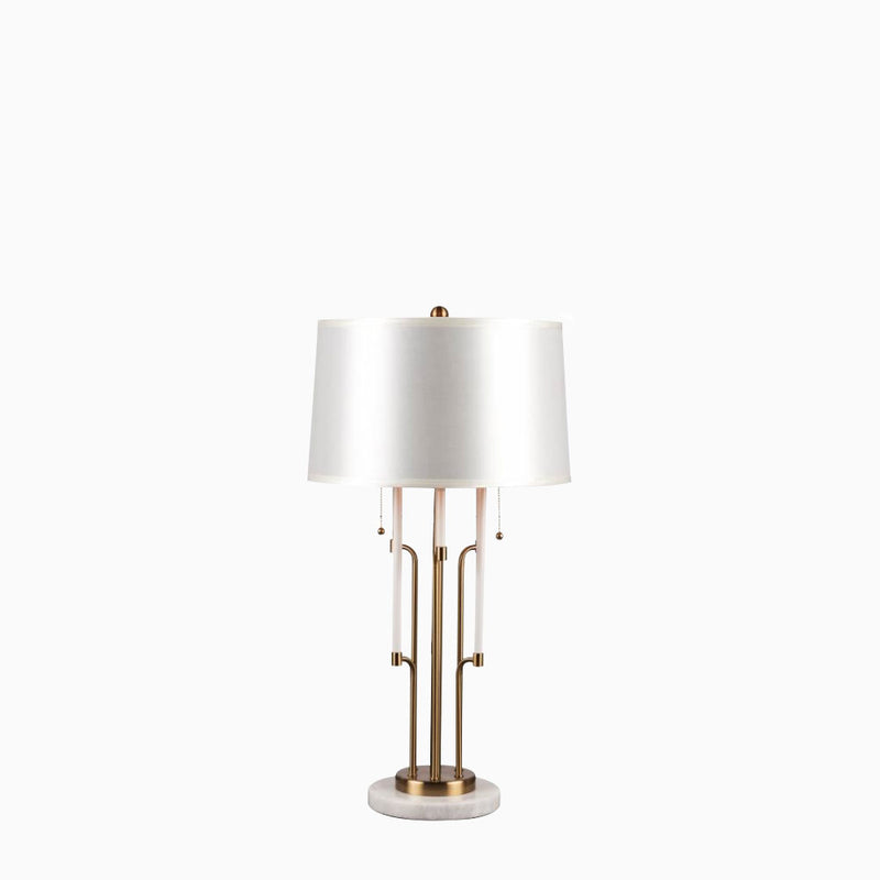 Zinc Table Lamp