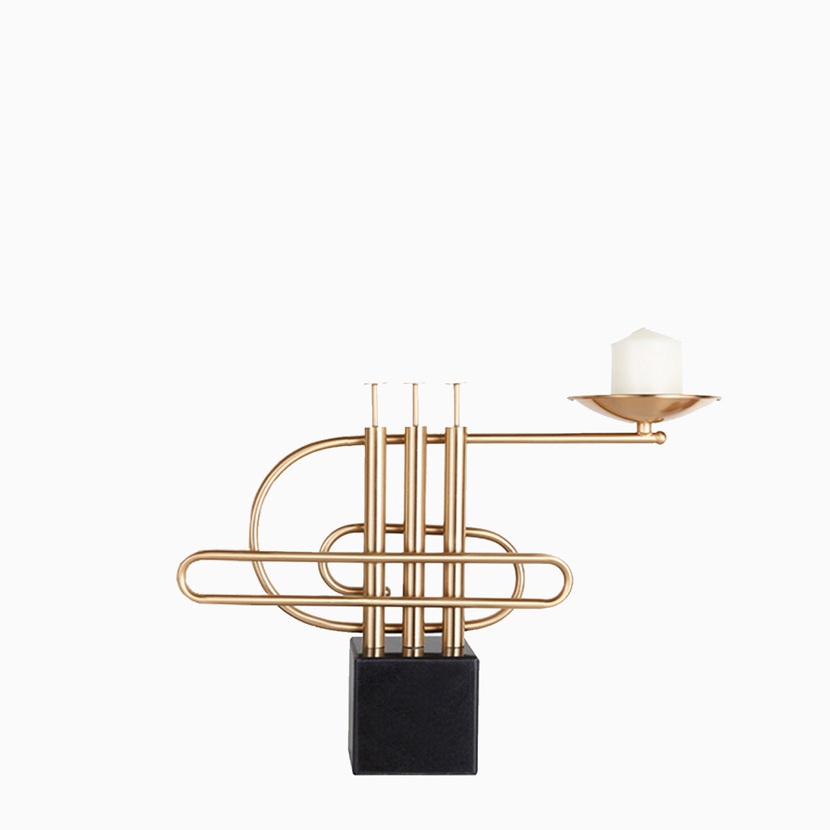 Trumpet Candle Holder - objects of interest