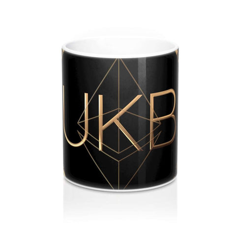 UKB - UK Bitcoin Blog Currency Mug 11oz