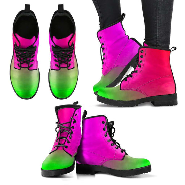 Ladies Love and Design Rainbow Boots