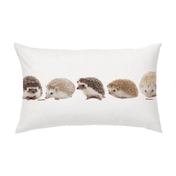 Love and Design Hedgehog Pillow Case - Mind your head, may be prickly!