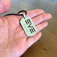 EVE ONLINE Game Dog Tag Necklace