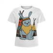Love and Design Wild West Bunny, Girl's T-Shirt