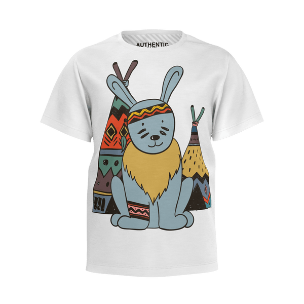 Love and Design Wild West Bunny, Boy's T-Shirt