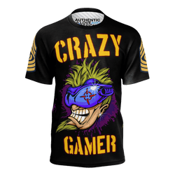 Crazy Gamer All Over Premium T-Shirt