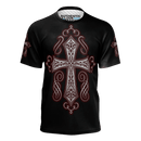 3 Crosses Love and Design Authentic Design T-Shirt