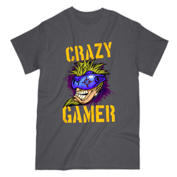Love and Design Crazy Gamer T-Shirt