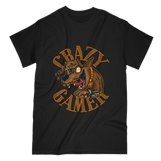 Love and Design Crazy Gamer DOG T-Shirt