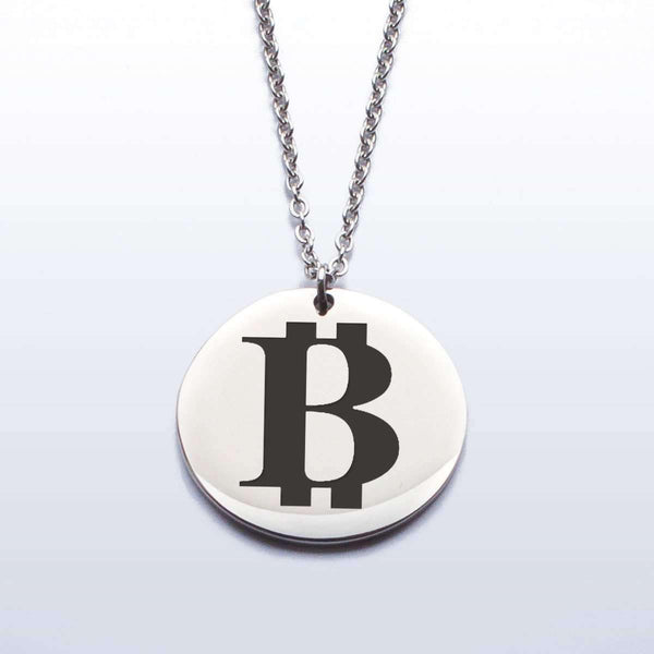 Love and Design Love and Design Bitcoin Pendant