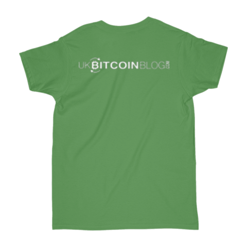ukbitcoinblog.com Official T-Shirt - Double Sided