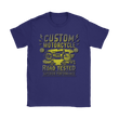 Love and Design Custom Motorcycle T-Shirt - Different colour options available