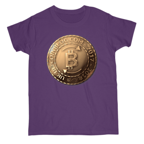 UK Bitcoinblog.com Official T-Shirt Coin