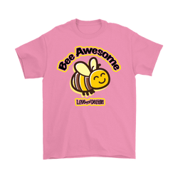 Love and Design Bee Awesome Mens T-Shirt