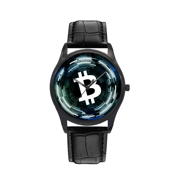 Bitcoin Watch - Cryptocurrency on your wrist.