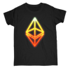 Image of Glowing Ethereum Cryptocurrency T-Shirt