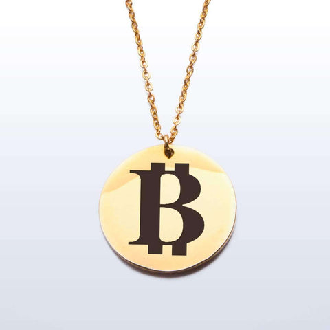 Love and Design Bitcoin Pendant