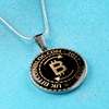 Image of UK Bitcoinblog.com Official Pendant Necklace, Bangle
