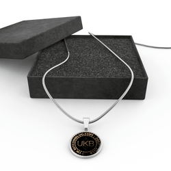 UKB Cryptocurrency Jewellery - comes with 10UKB Cryptocoins.