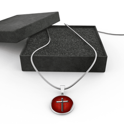 The Imperfect Cross of St John Style 2 with Detail Necklace/Bangle