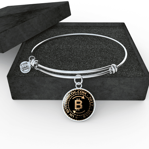 Love and Design UK Bitcoinblog.com Official Pendant Necklace, Bangle