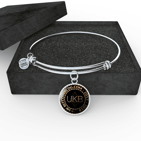 Love and Design UKB Cryptocurrency Jewellery - comes with 10UKB Cryptocoins.