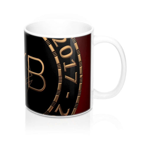 Love and Design UKB - UK Bitcoin Blog Currency Mug 11oz