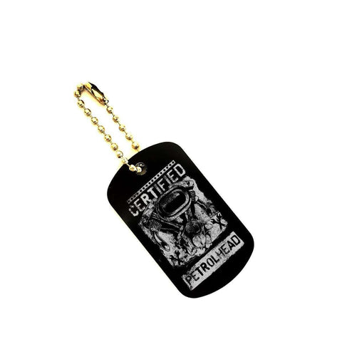 Fantastic Petrol Head Offroad Car, Truck Dog Tag Keychain